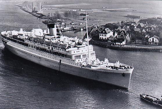 schip op het noordzeekanaal